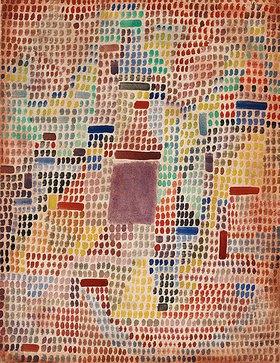 Paul Klee: Mit dem Eingang