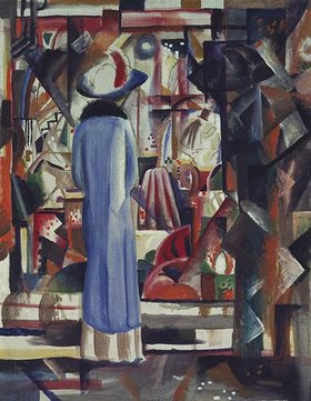 August Macke: Großes helles Schaufenster