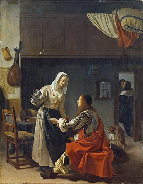 Frans van Mieris d.Ä.: Liebeswerbung
