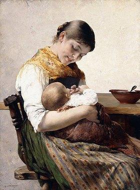 Georgios (Georges) Jakobides (Jacobides): Mutter und Kind