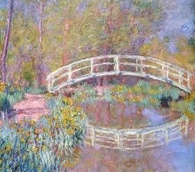 Claude Monet: Brücke in Monets Garten (Pont dans le Jardin de Monet). 1895-96