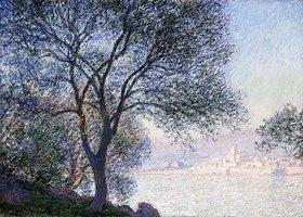 Claude Monet: Antibes von La Salis aus gesehen (Antibes vu de La Salis)
