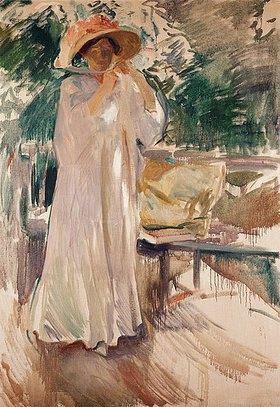 Joaquin Sorolla: Clotilde in ihrem Garten