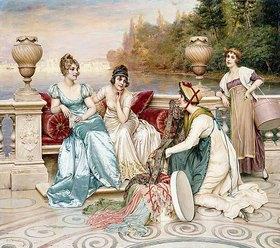 Joseph Frederick Charles Soulacroix: Eine Auswahl an Seide und Satin (A Selection of Silk and Satin)