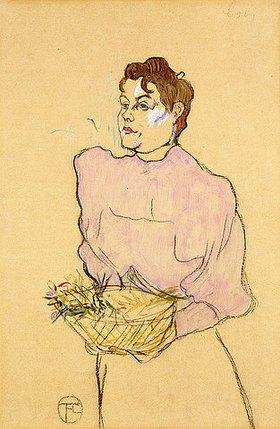 Henri de Toulouse-Lautrec: Die Blumenverkäuferin (La Vendeuse de Fleurs)