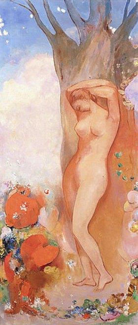 Odilon Redon: Der Frühling (La Renouveau)