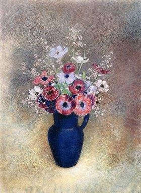 Odilon Redon: Anemonen in einem Krug (Anémones dans une Cruche)