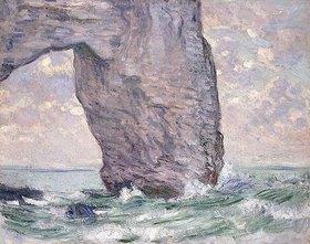 Claude Monet: La Manneporte (La Manneporte vue en Aval)