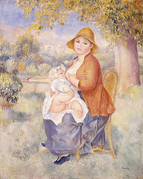 Auguste Renoir: Mutter und Kind, Mutterschaft (La Mère et l'Enfant, Maternité)