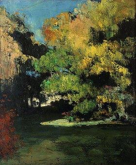 Paul Cézanne: Die Lichtung (La Clairière)