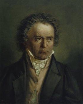 Joseph Karl Stieler: Ludwig van Beethoven