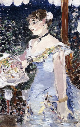 Edouard Manet: Die Café-Sängerin (Chanteuse de Café-concert)