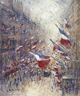 Gustave Loiseau: Der vierzehnte Juli in Paris (Le Quatorze Juillet à Paris)
