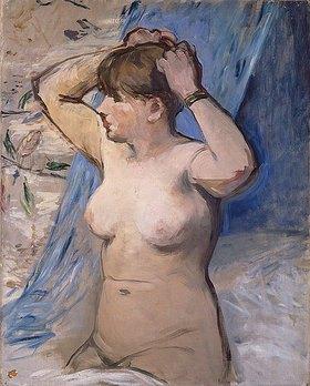 Edouard Manet: Frau beim Frisieren (Femme nue se coiffant)