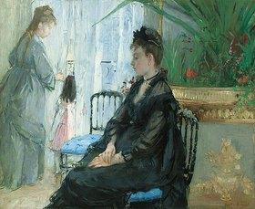 Berthe Morisot: Interieur