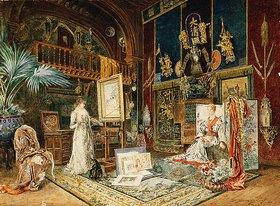 Marie-Désirée Bourgoin: Das Atelier von Sarah Bernhard