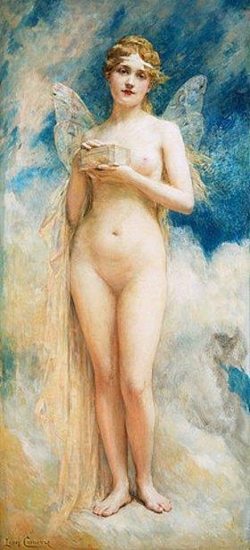 Léon François Comerre: Die Büchse der Pandora