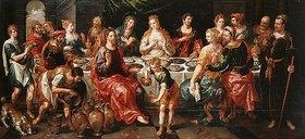 Hendrick de Clerck: Die Hochzeit zu Kana
