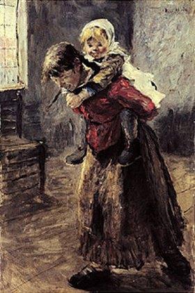Fritz von Uhde: Die große Schwester