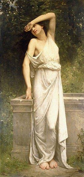 William Adolphe Bouguereau: Eine klassische Schönheit an einem Brunnen