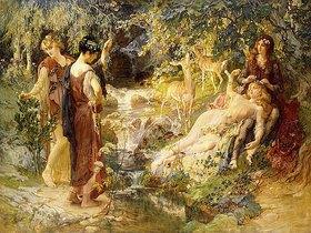 Frederick Arthur Bridgman: Ein geheimnisvoller Wald (Un Bois Secret)
