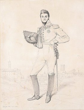 Jean Auguste Dominique Ingres: General Louis-Etienne Dulong de Rosnay