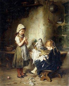 Heinrich Hirt: Die kleinen Näherinnen
