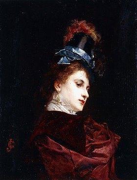 Gustave Jean Jacquet: Der neue Hut