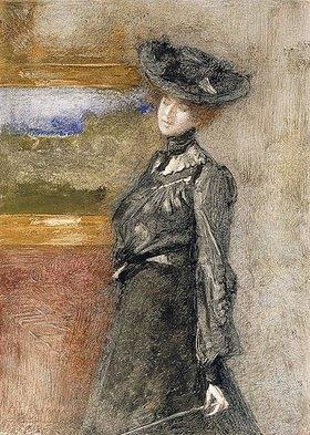 Pompeo Mariani: In der Gemäldegalerie (Nella Galleria)