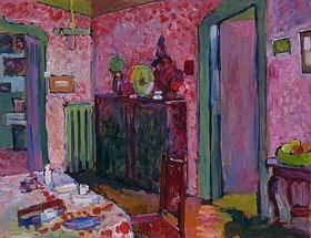 Wassily Kandinsky: Wohnzimmer in der Ainmillerstraße