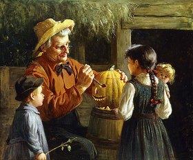 Abbott Fuller Graves: Jack-O'-Lantern (Halloweenkürbis)