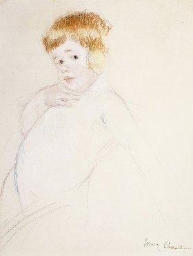 Mary Cassatt: Studie für das Baby für 'The Caress'