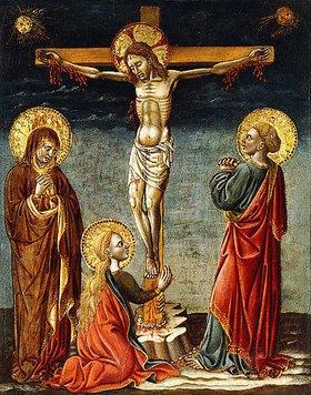 Meister von Imola: Die Kreuzigung