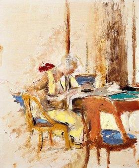 Edouard Vuillard: Lektüre im Kleinen Salon (Madame Hessel au Château des Clayes)