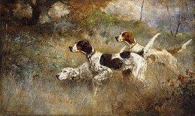 Percival Leonard Rosseau: Die drei Setter, Bob, Bill und Ginger