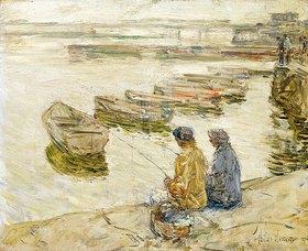 Frederick Childe Hassam: Fishing