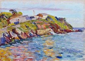 Wassily Kandinsky: Bucht von Rapallo