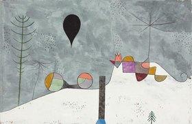 Paul Klee: Winterbild