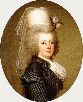 Adolf Ulrik Wertmuller: Porträt von Marie Antoinette, Königin von Frankreich. 1793 (siehe auch Bildnummer 43469)
