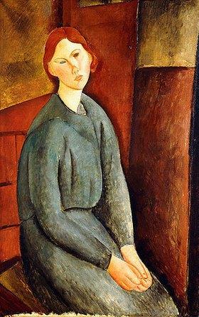 Amadeo Modigliani: Porträt von Annie Bjarne