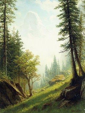 Albert Bierstadt: In den Berner Alpen
