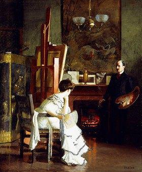 William McGregor Paxton: Im Atelier