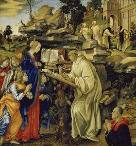 Filippino Lippi: Die Vision des Hl. Bernhard