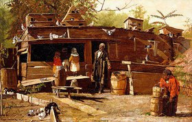 Winslow Homer: Uncle Ned at Home