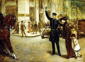 Warren Davis: Straßenkreuzung in New York (New York Crossing)