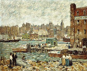 Robert C. Spencer: Am Wasser (On the Waterfront)