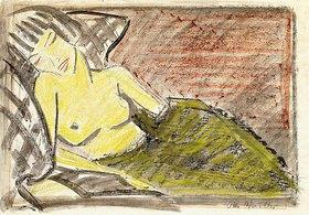 Otto Mueller: Liegende Frau