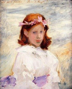 John Singer Sargent: Porträt von Teresa Gosse