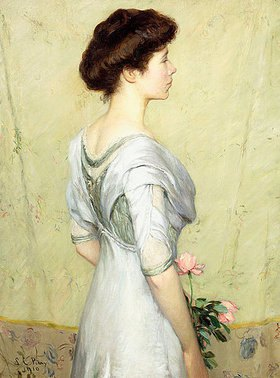 Lilla Cabot Perry: Die rosafarbene Rose