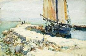 John Singer Sargent: Am Gardasee (bei San Vigilio)